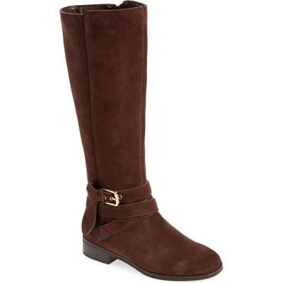 Kensie Capello Knee High Boot- Brown
