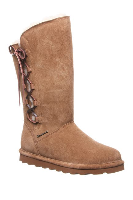 Image of BEARPAW Rita Wide Suede Tall Boot