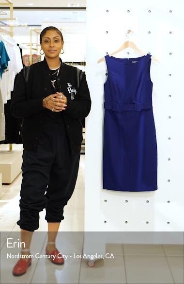 Laguna Crepe Belted Dress, sales video thumbnail