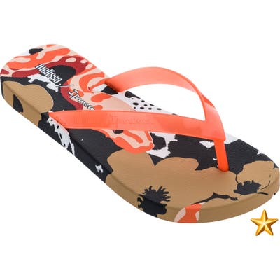 Melissa X Ipanema Flip Flop, Orange