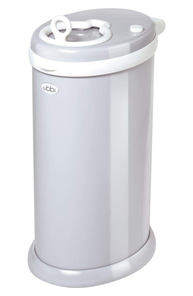 UBBI Diaper Pail, Main, color, GREY