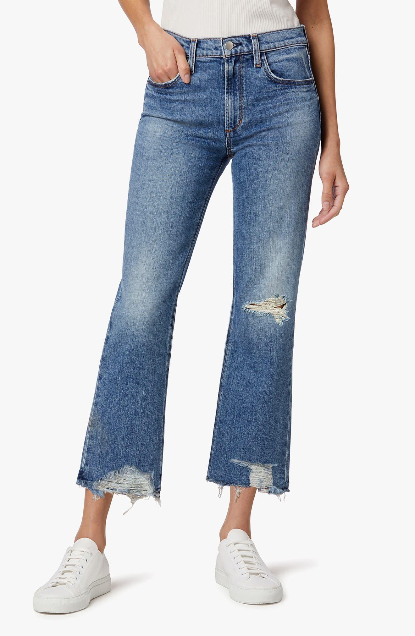 The Callie High Waist Crop Bootcut Jeans