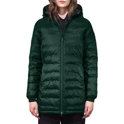 Petite Canada Goose Camp Fusion Fit Packable Down Jacket, P (2-4P) - Green