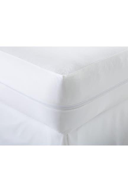 Image of IENJOY HOME Queen Premium Mattress Protector - White