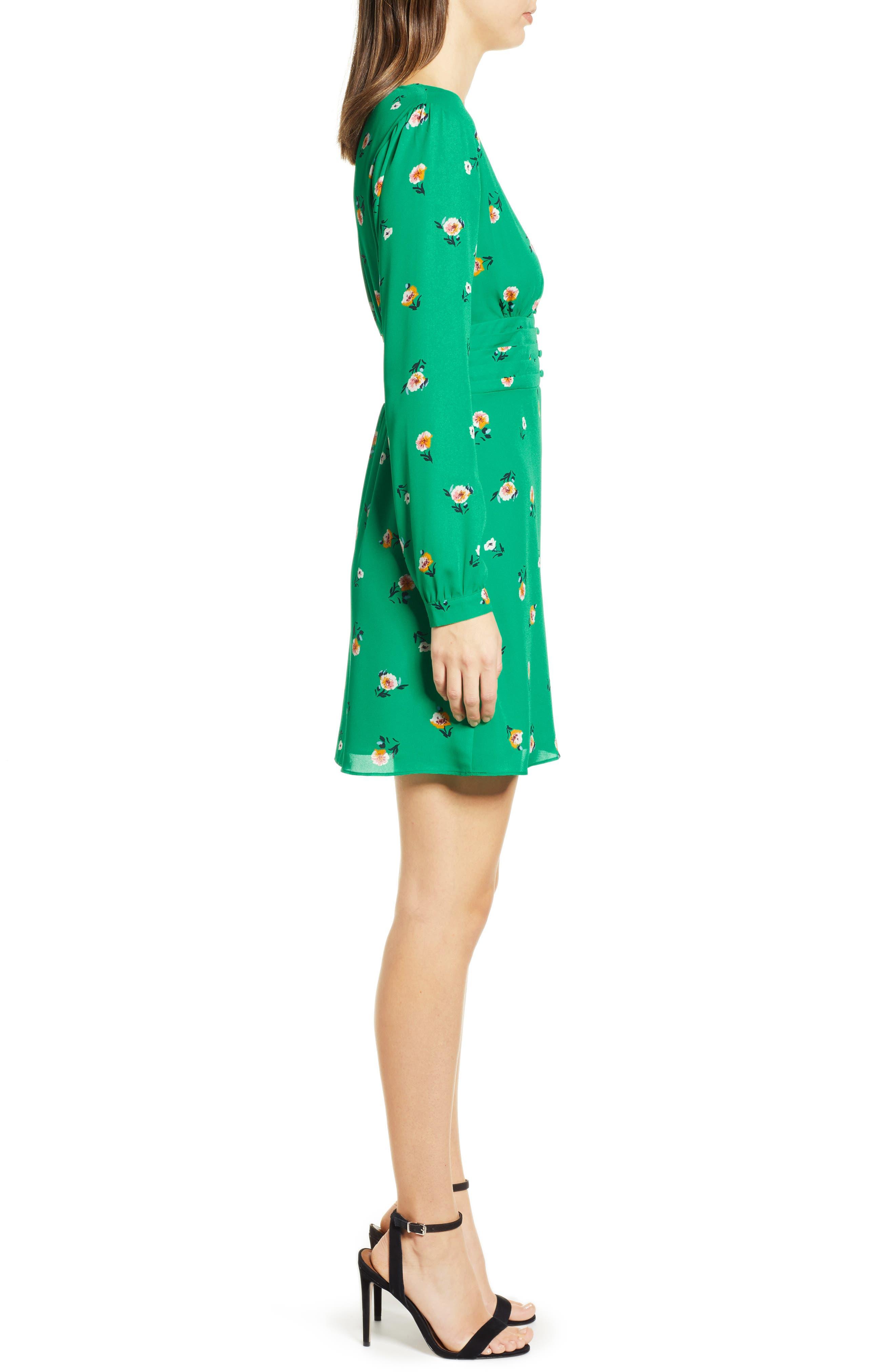 ,                             Print Button Dress,                             Alternate thumbnail 10, color,                             300