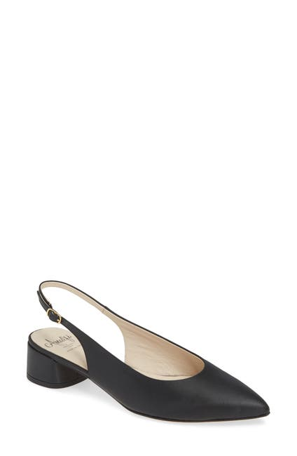 Image of Amalfi by Rangoni Anzio Slingback Leather Pump