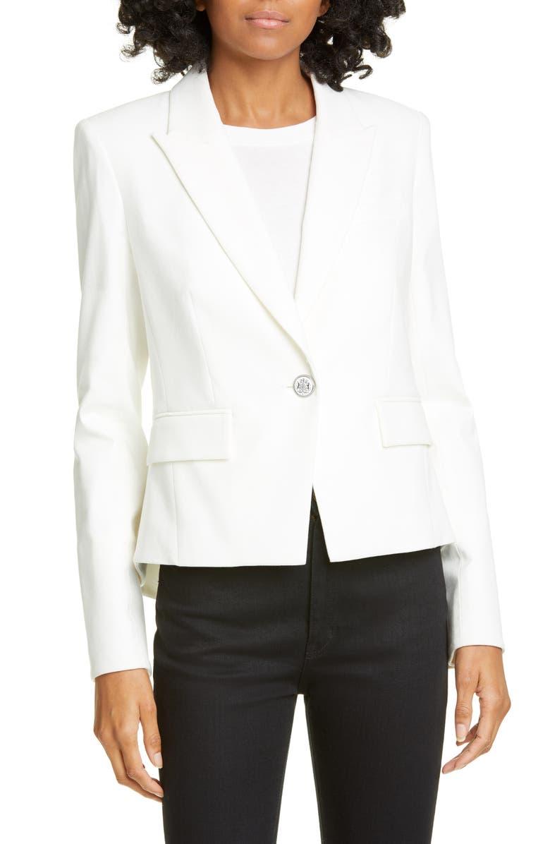 VERONICA BEARD Danielle Dickey Jacket, Main, color, OFF-WHITE