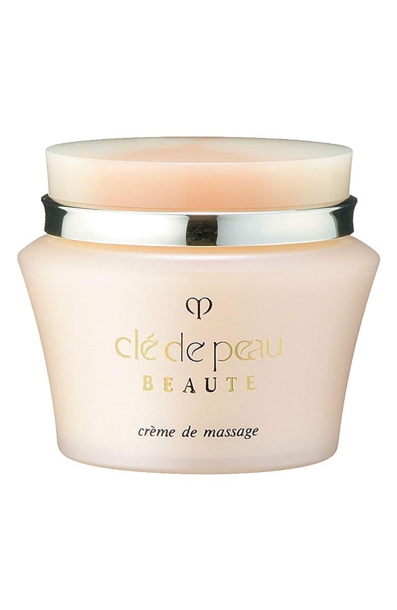 CLÉ DE PEAU BEAUTÉ Crème de Massage Cream, Main, color, NO COLOR
