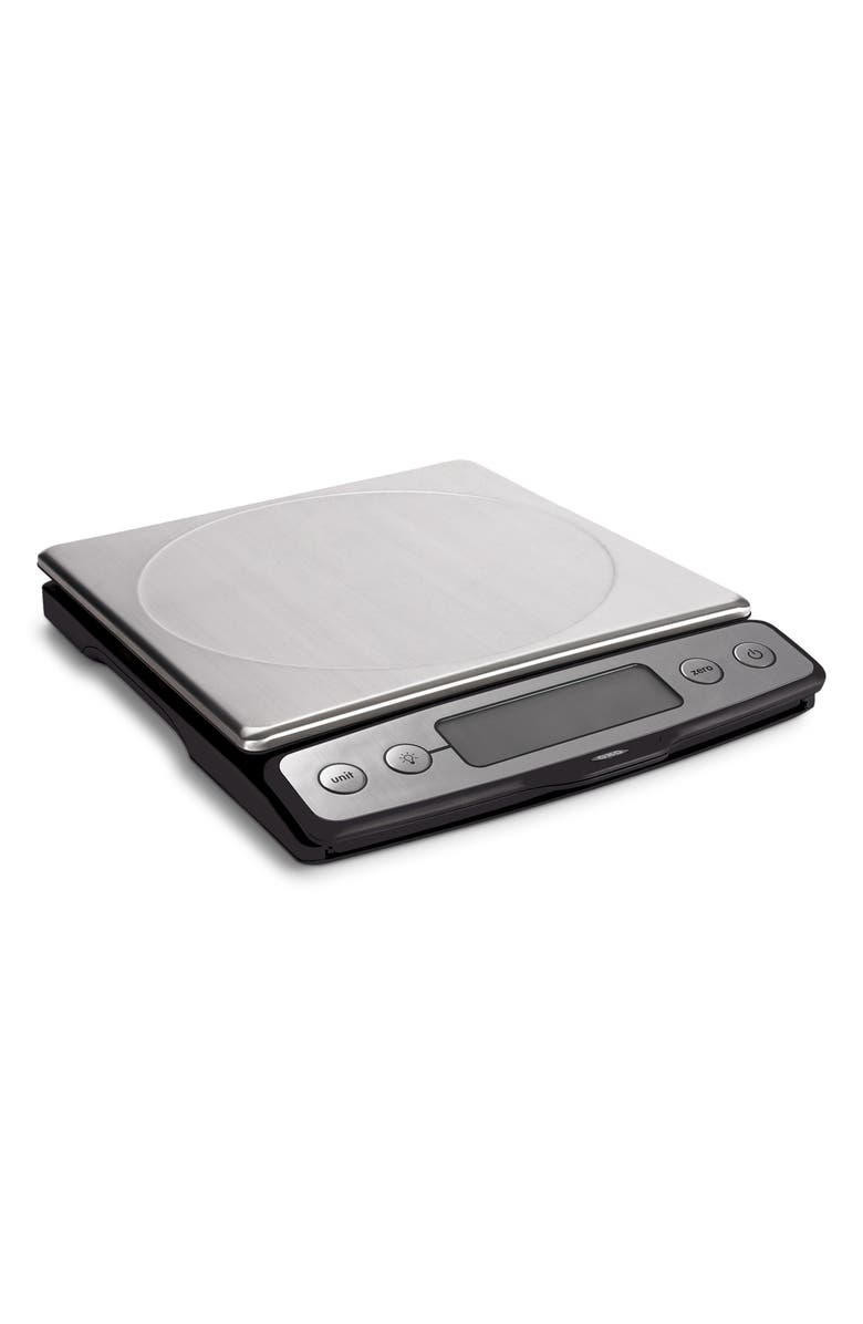 OXO Good Grips 22-Pound Stainless Steel Food Scale with Pull-Out Display, Main, color, 040