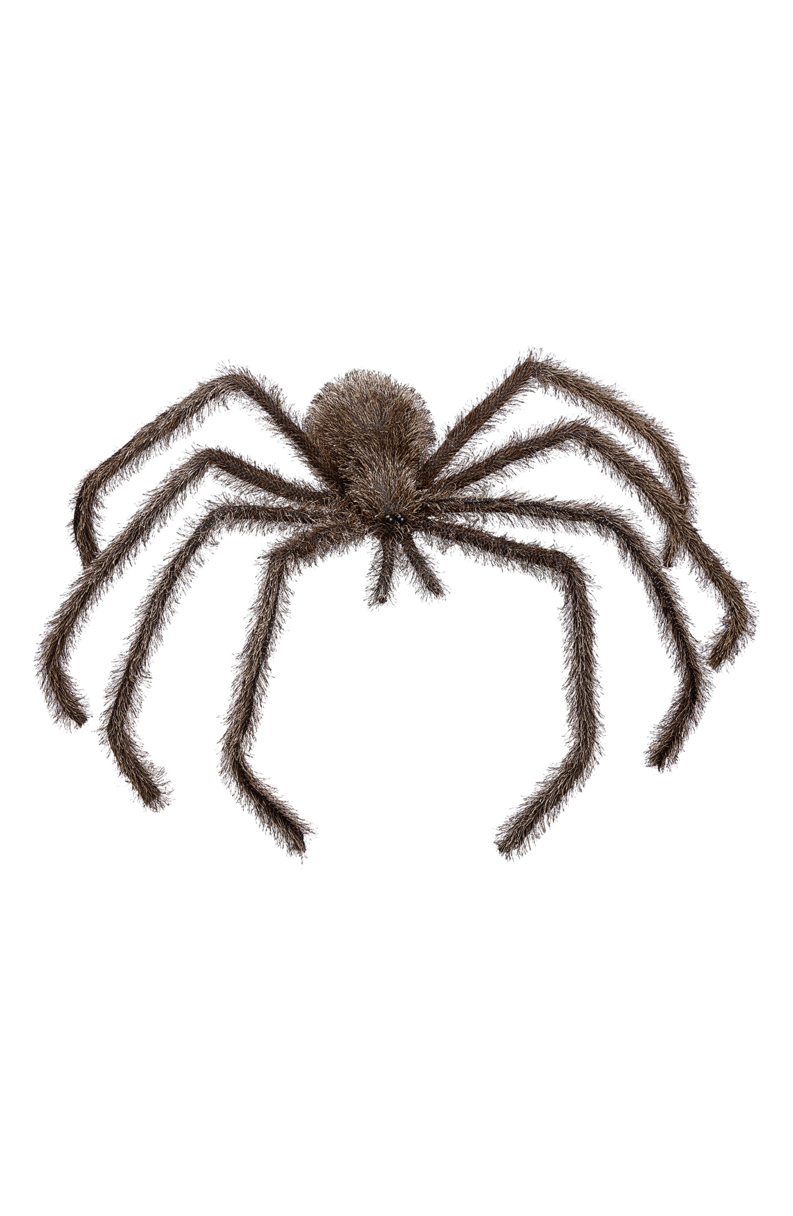 Illicit joyful shrieks from family and friends every time they spot this furry spider standing on long wire legs. Style Name: Allstate Spider Decoration. Style Number: 6082311. Available in stores.