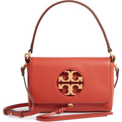 Tory Burch Mini Miller Leather Top Handle Bag - Orange