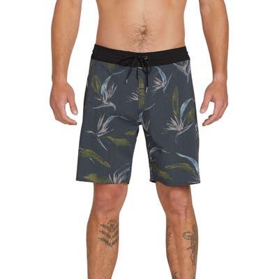 Volcom Faxer Stoney Board Shorts, Black