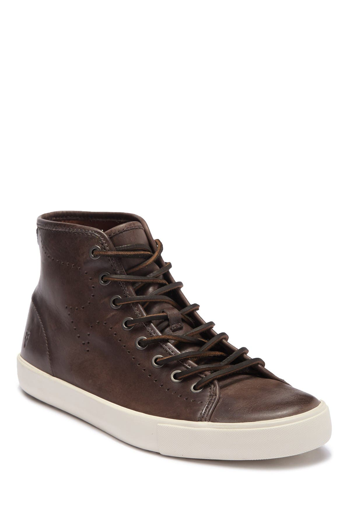Image of Frye Brett High Leather Sneaker