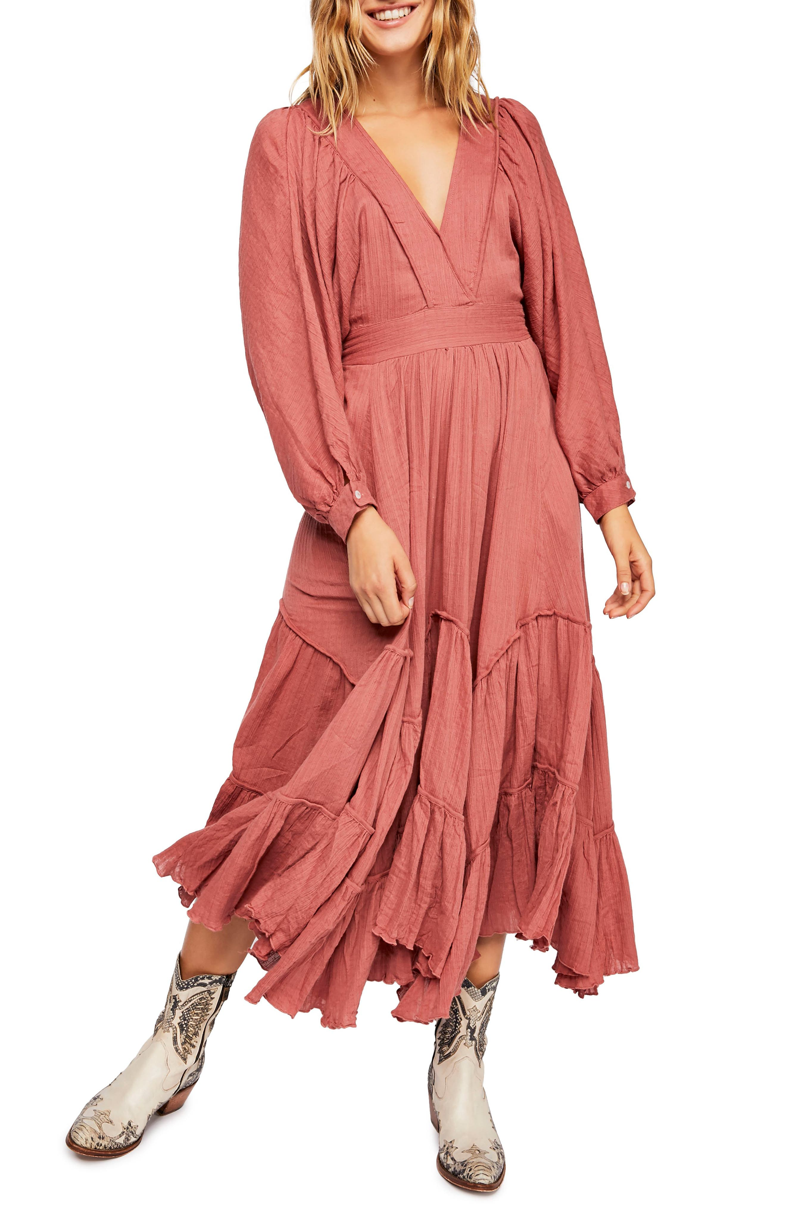 Endless Summer By Free People I Need To Know Maxi Dress, Pink