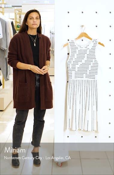 Fit & Flare Sweater Minidress, sales video thumbnail