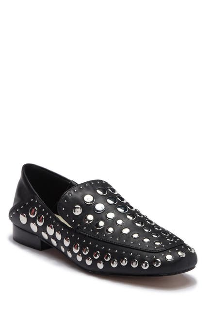 Image of 1.State Flintia Leather Studded Loafer