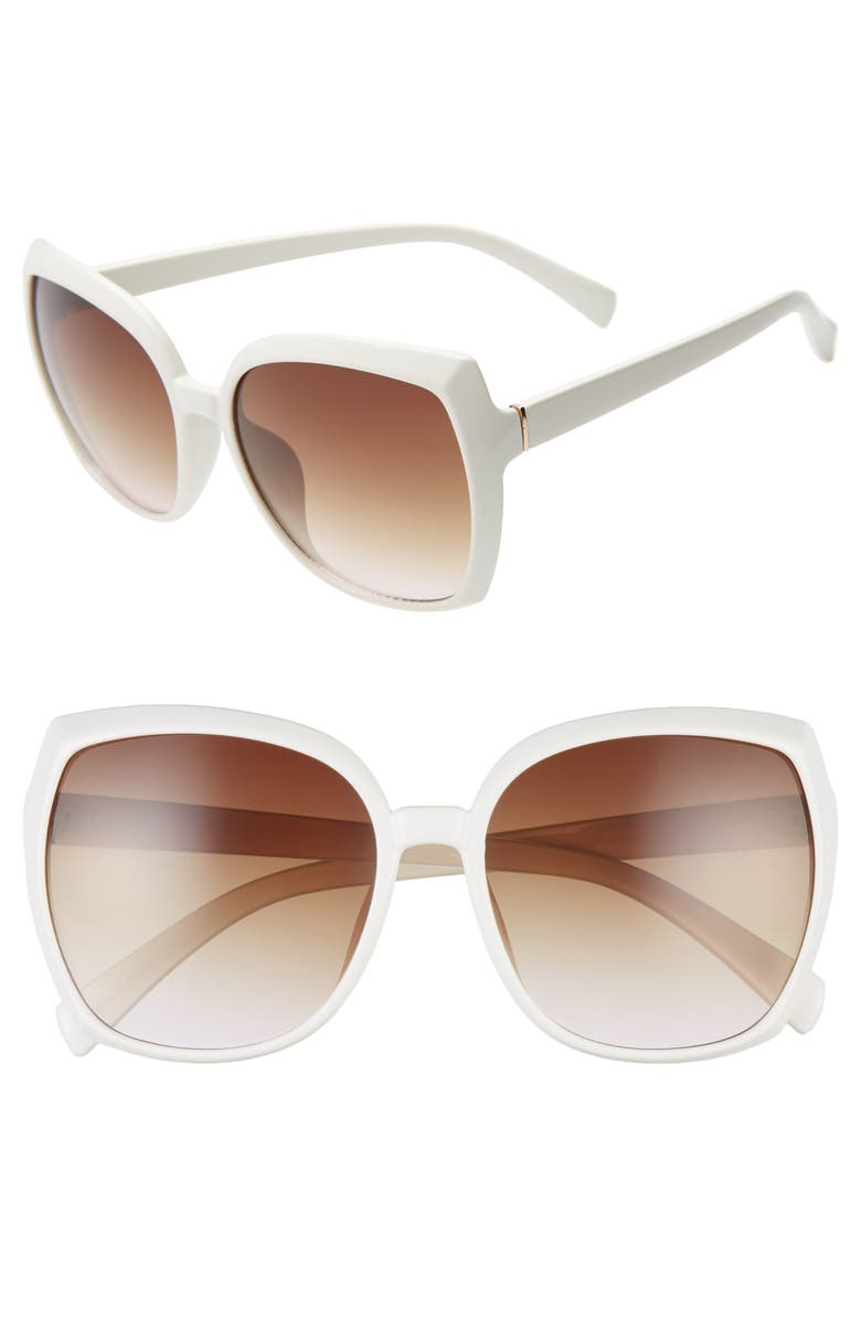 BP. Square Sunglasses, Main, color, 100