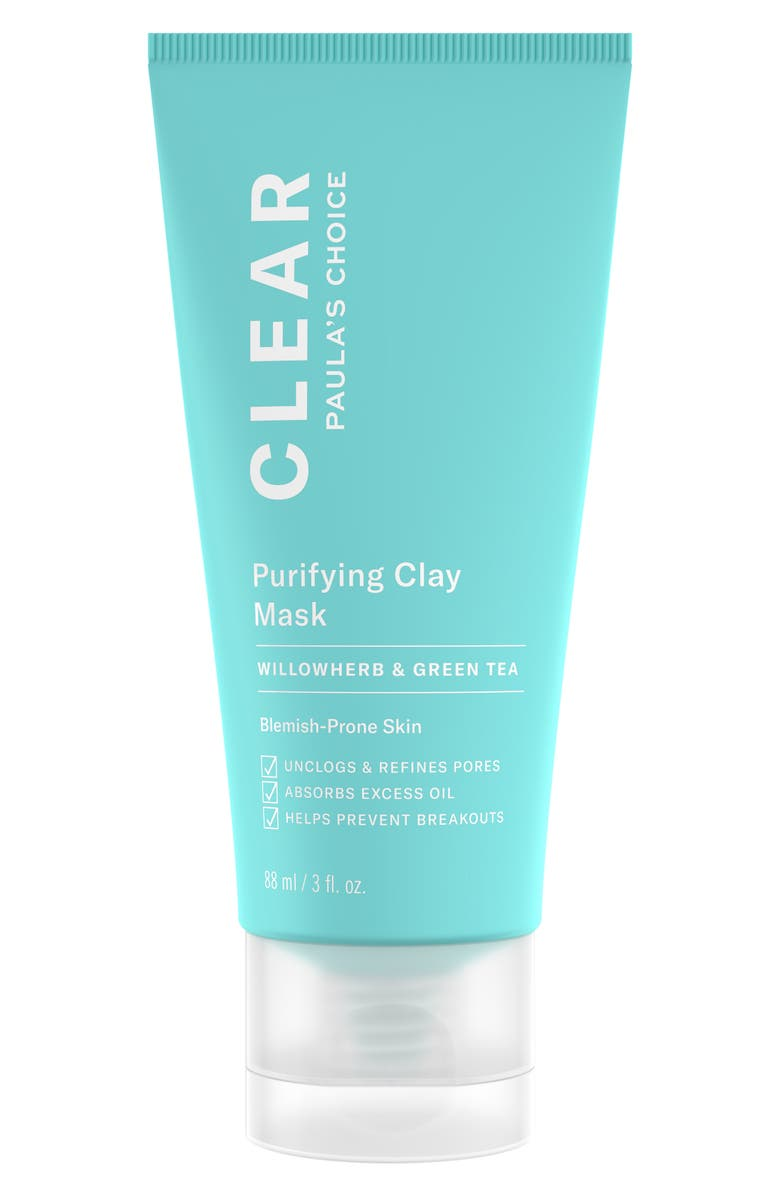 PAULA'S CHOICE Clear Purifying Clay Mask, Main, color, NO COLOR