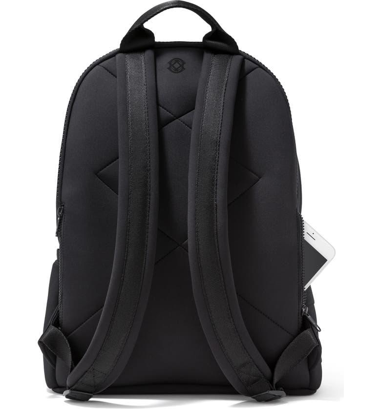 DAGNE DOVER Large Dakota Neoprene Backpack, Main, color, 001