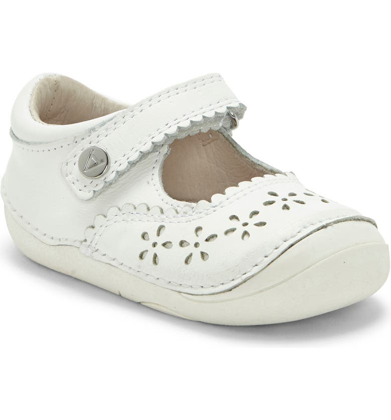 SOLE PLAY Gabbai Sparkle Mary Jane Sneaker, Main, color, WHITE