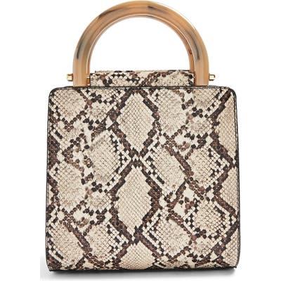 Topshop Selma Shoulder Bag - Beige
