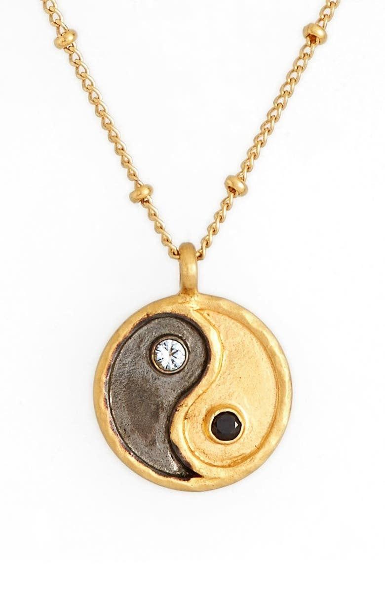 'Yin Yang' Pendant Necklace