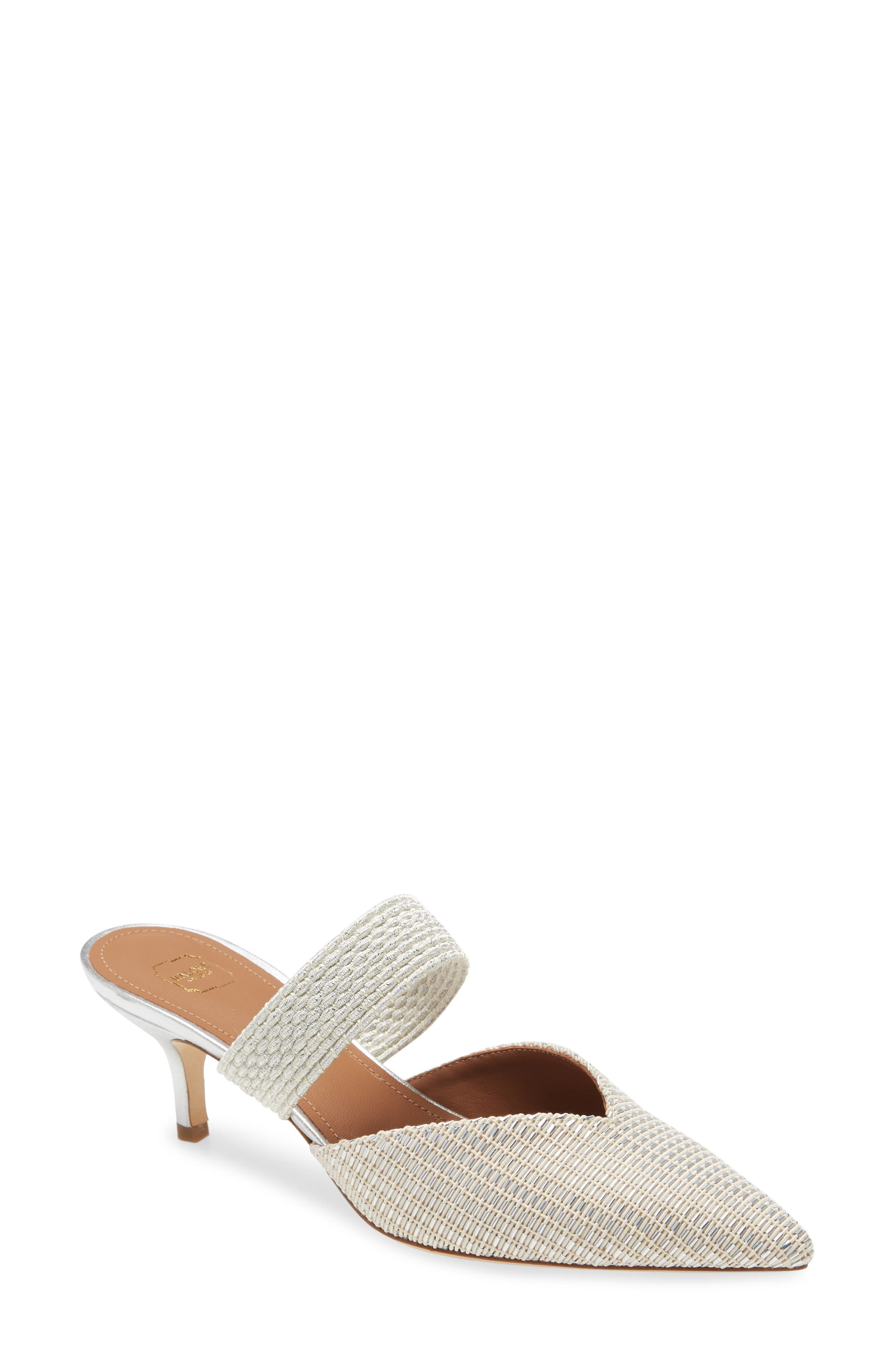Women s Malone Souliers Maisie Banded Pointed Toe Mule E5595