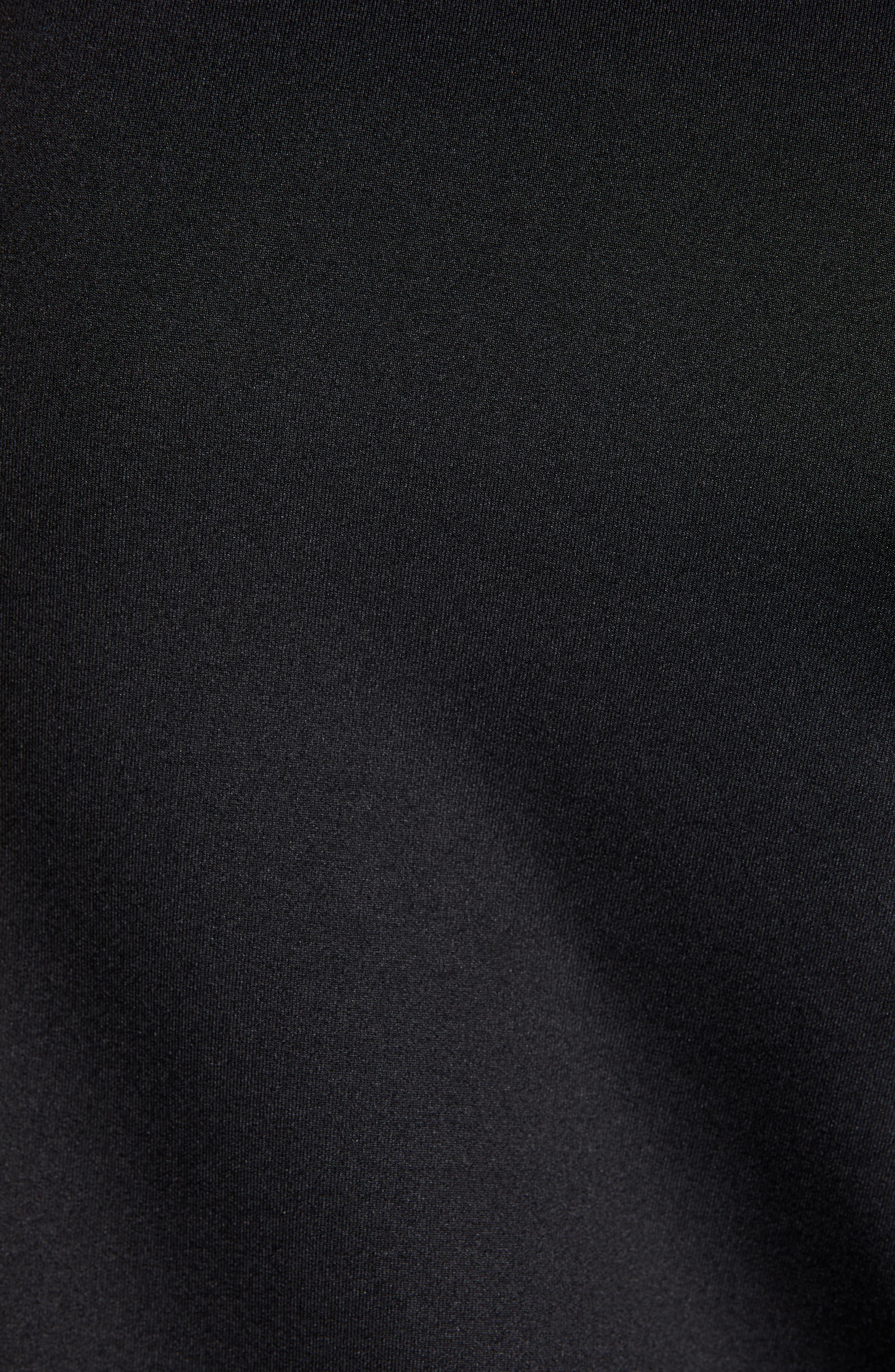 ,                             Dantony Regular Fit Zip Hoodie,                             Alternate thumbnail 5, color,                             BLACK