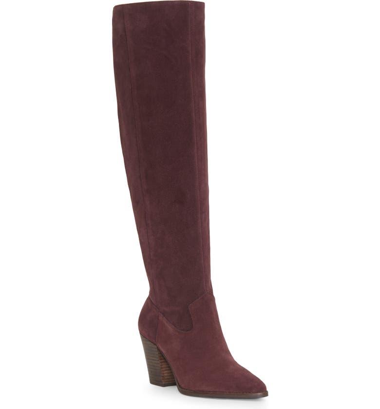 LUCKY BRAND Azoola Knee High Boot, Main, color, 540