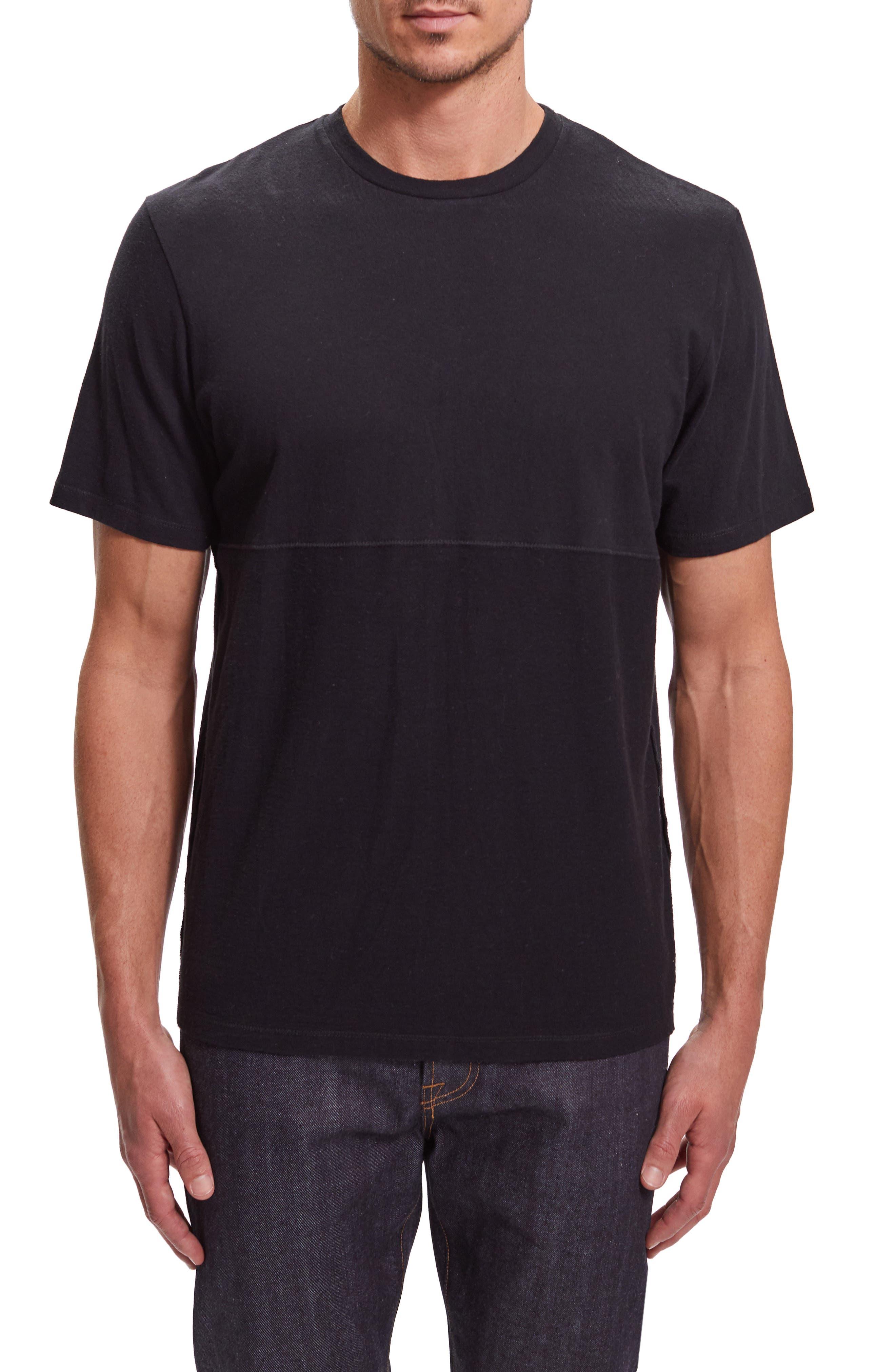 Image of BALDWIN Willet Solid T-Shirt