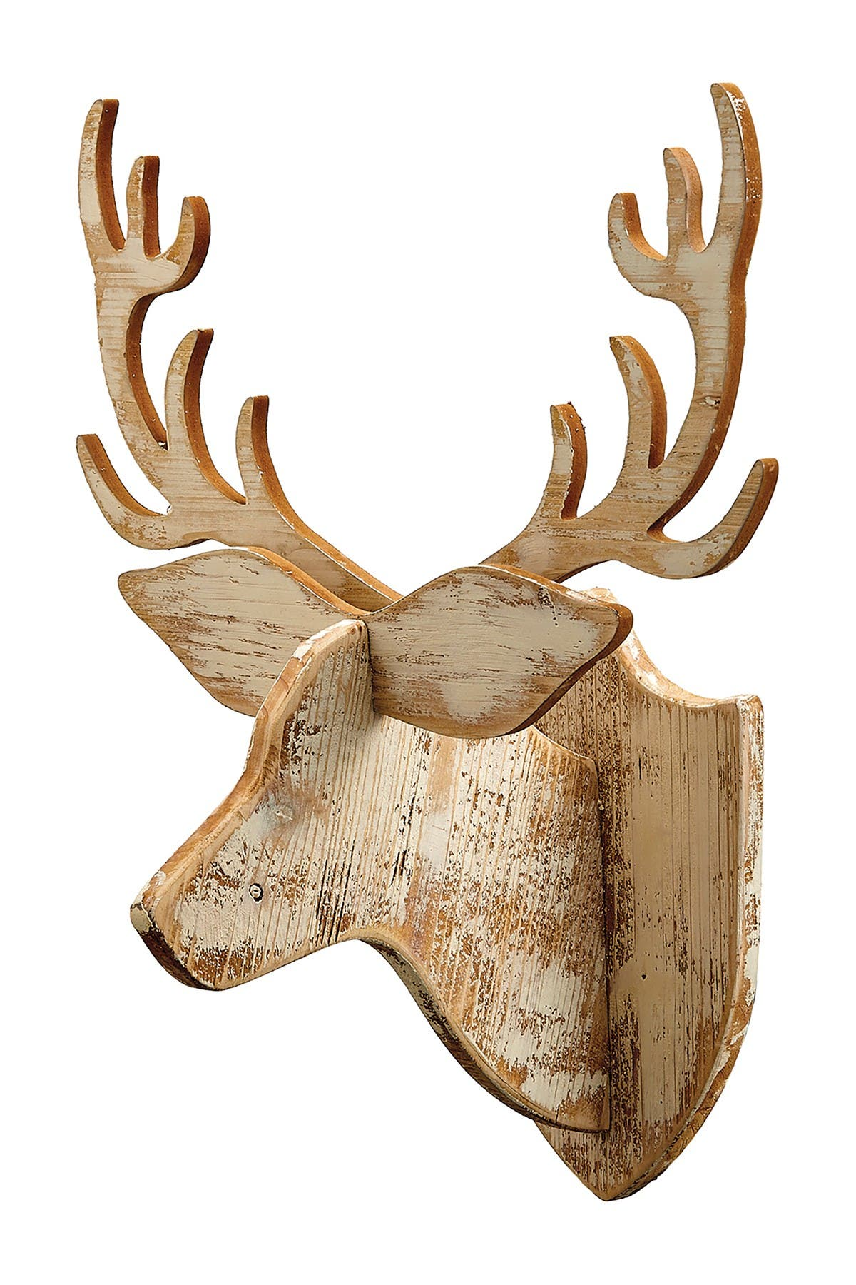 "Image of ALLSTATE 25.5"" Reindeer Head Wall Decor"