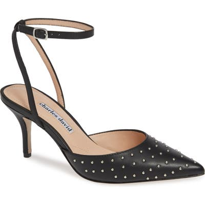 Charles David Azalea Studded Pointy Toe Pump