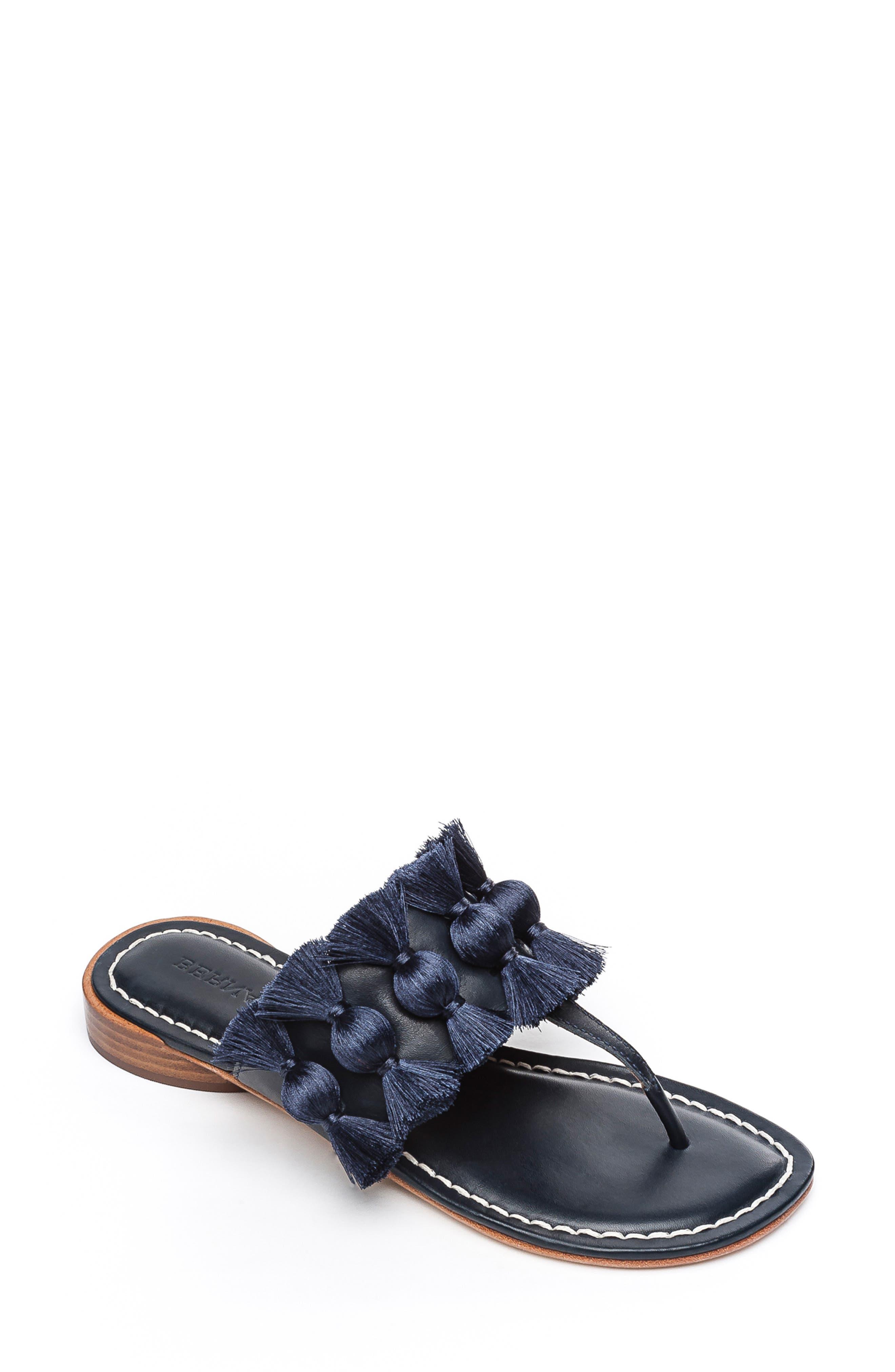 Bernardo Footwear Tara Flip Flop- Blue