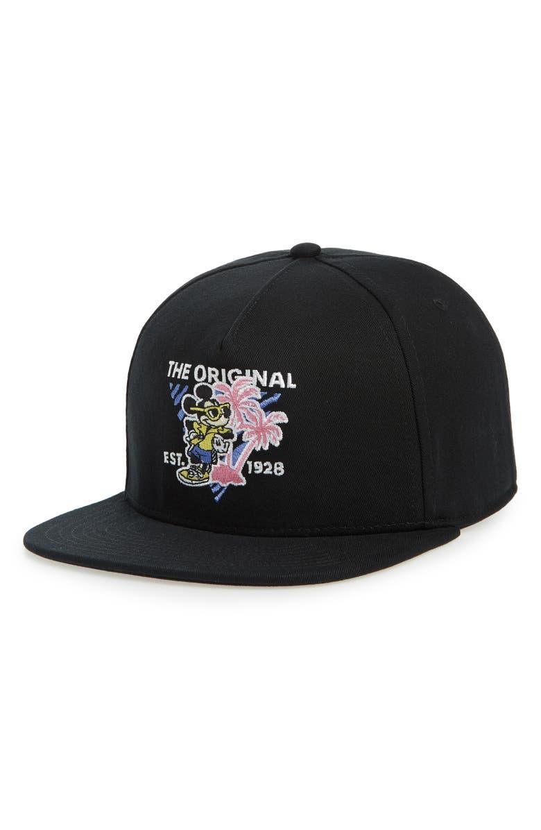 f268c20d x Disney Mickey's 90th Anniversary Snapback Hat, Main, color, ...