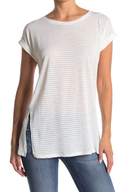 Image of G-STAR RAW Luge Knotted Stripe Tee