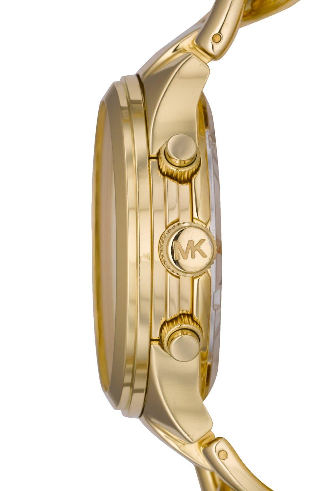 ,                             Michael Kors Chain Bracelet Chronograph Watch, 38mm,                             Alternate thumbnail 16, color,                             710