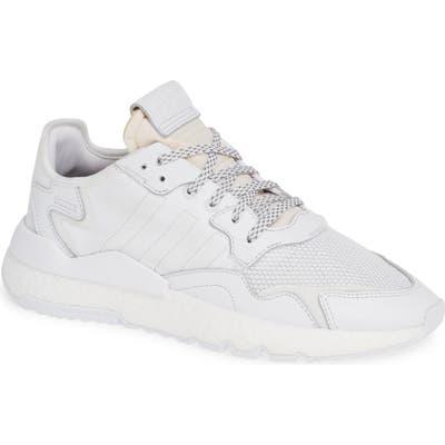 Adidas Nite Jogger Sneaker- White