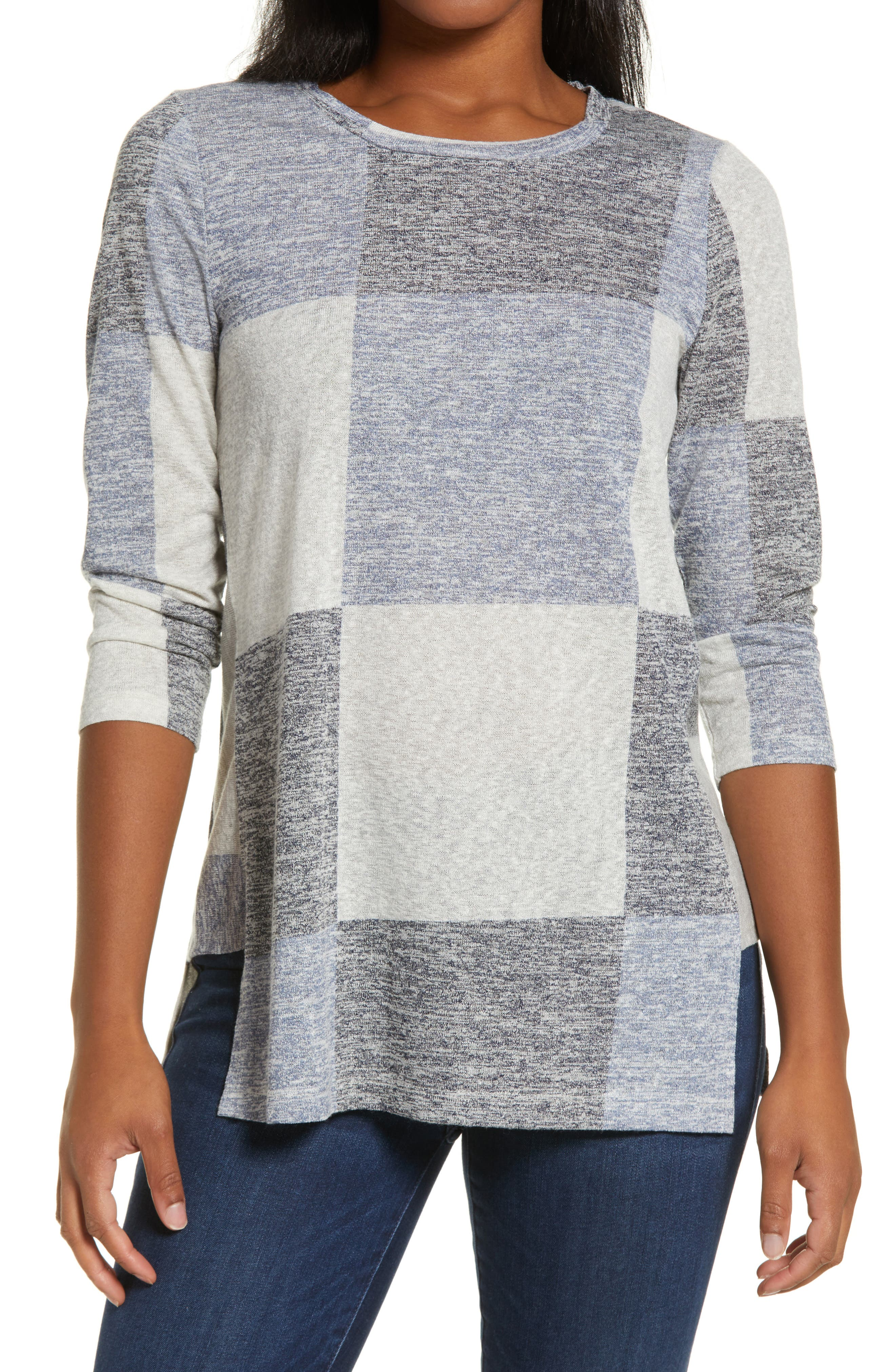Side Panel Inset Tunic Top