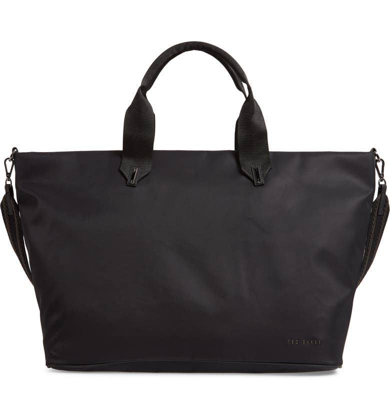 TED BAKER LONDON Large Mabele Tote, Main, color, BLACK