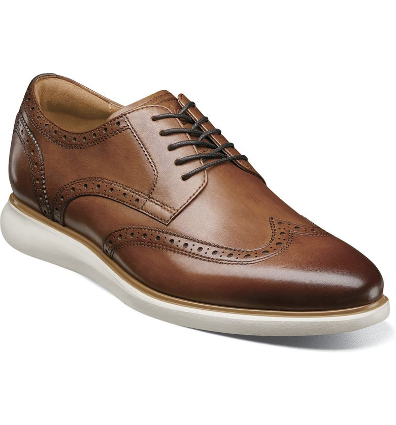 FLORSHEIM Fuel Wingtip, Main, color, SCOTCH