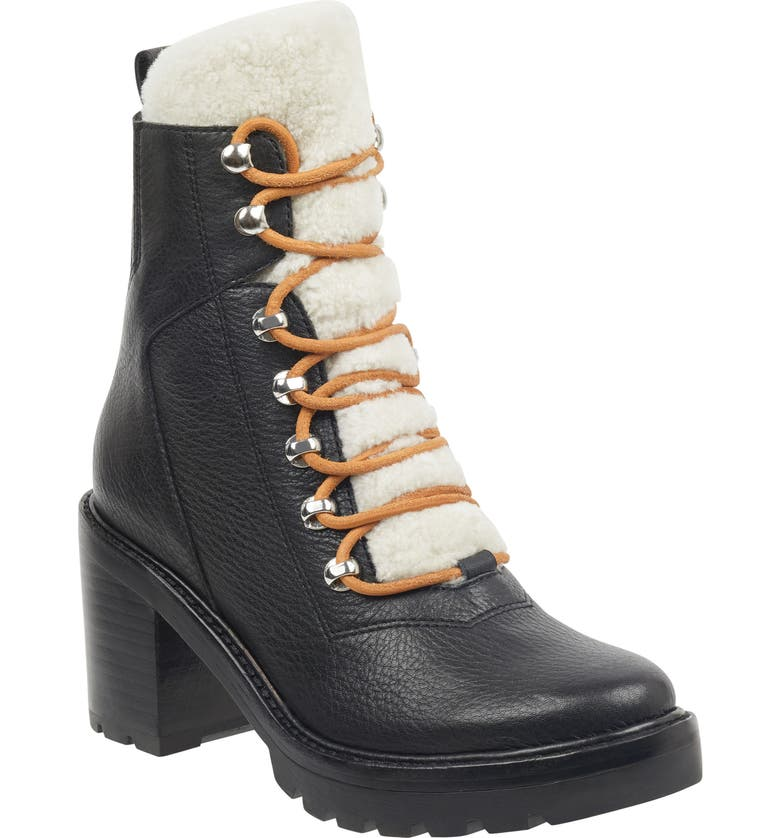 MARC FISHER LTD Denise Combat Boot, Main, color, 002