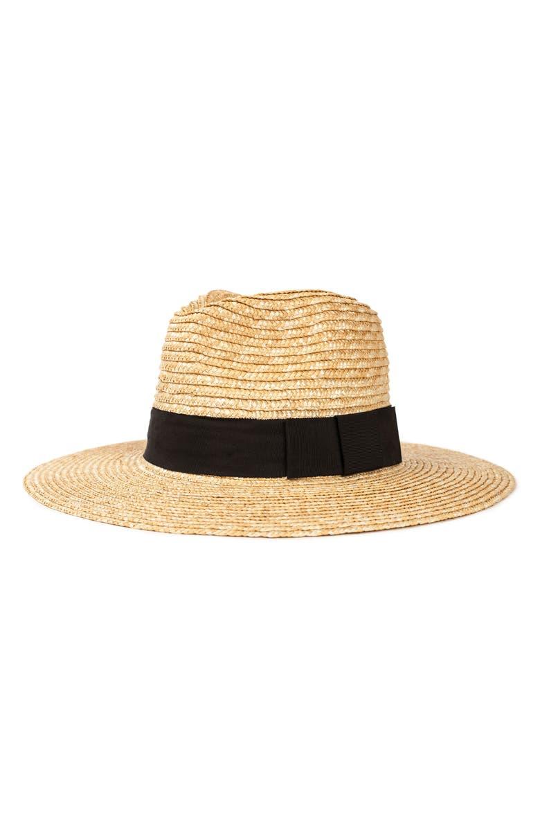 Joanna Straw Hat, Main, color, HONEY