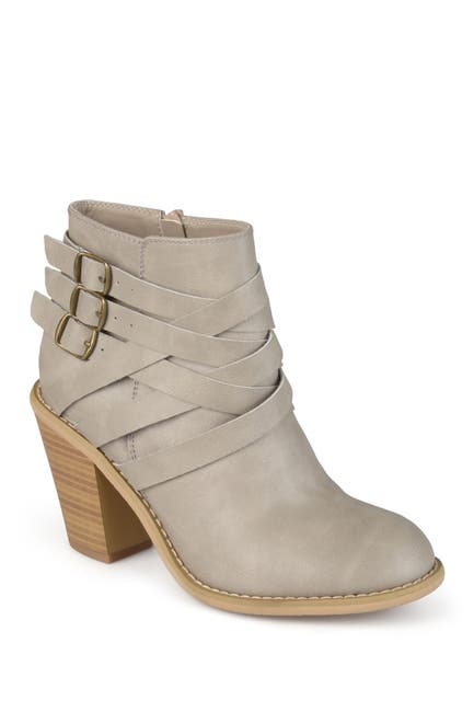 Image of JOURNEE Collection Strappy Ankle Bootie