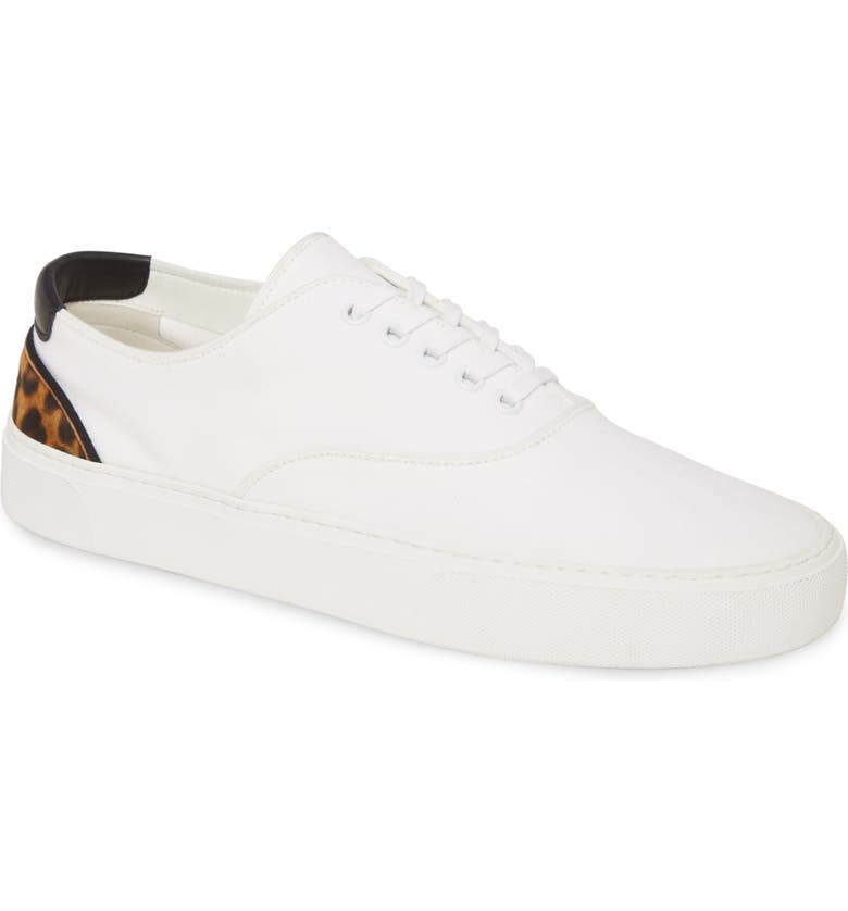 SAINT LAURENT Hawk Sneaker, Main, color, OPTIC WHITE