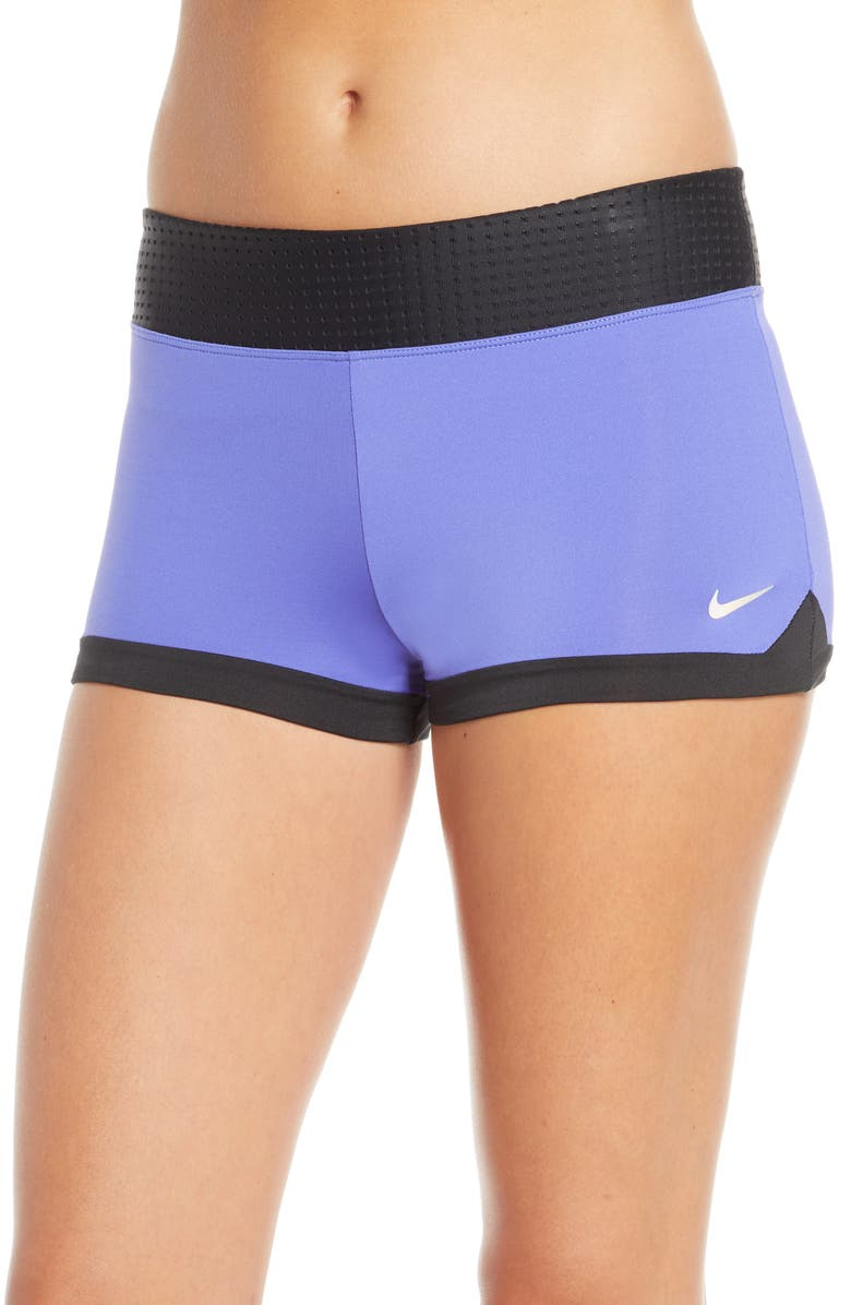 NIKE Mesh Waist Kick Shorts, Main, color, SAPPHIRE