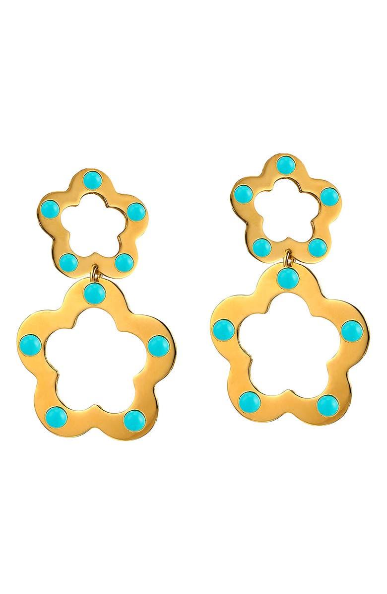 ASHA Olivia Drop Earrings, Main, color, 710