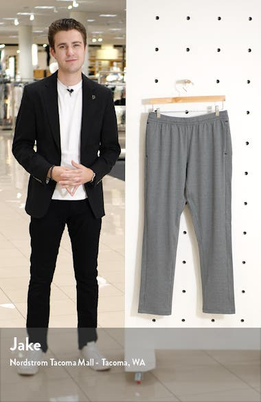 'Pyrite' Tapered Fit Knit Athletic Pants, sales video thumbnail