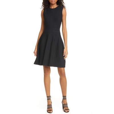 Ted Baker London Sleeveless Knit Fit & Flare Dress, Black