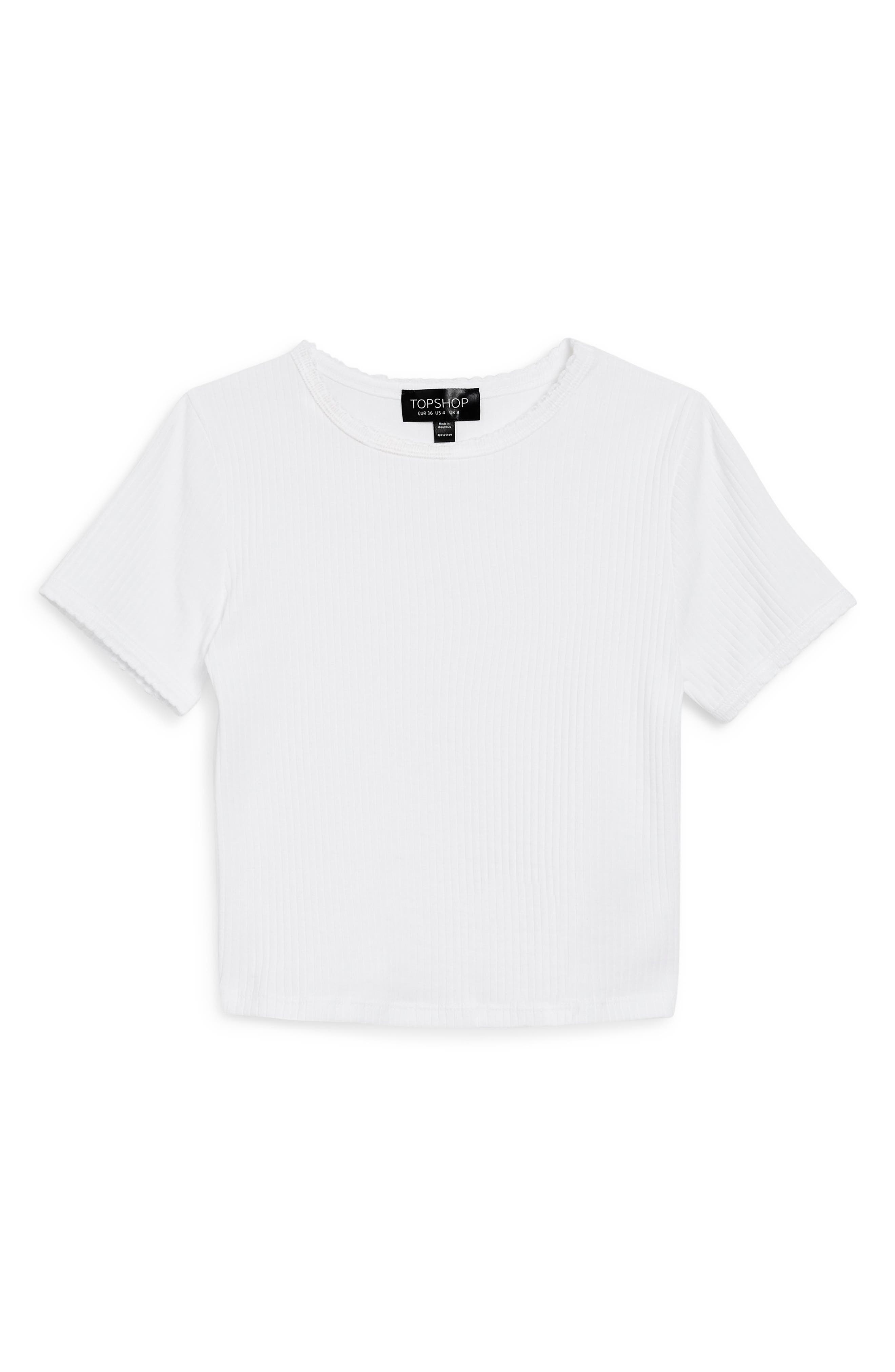 ,                             Scallop Edge Tee,                             Alternate thumbnail 12, color,                             100