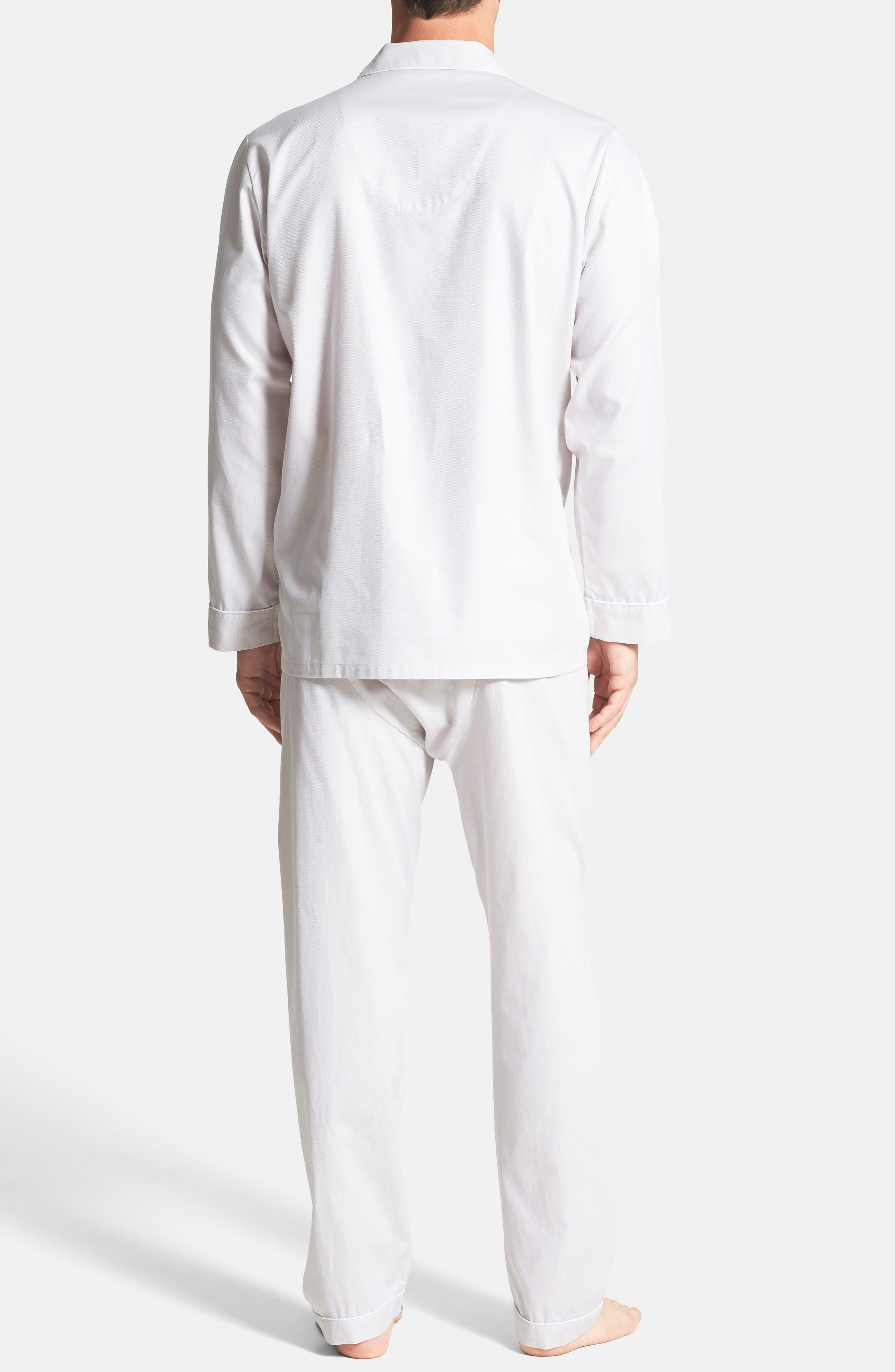 ,                             Herringbone Cotton Pajamas,                             Alternate thumbnail 9, color,                             209
